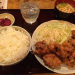 28288791 - 鶏唐揚げ定食