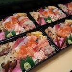 みずき - 料理写真:ちらし寿司(持ち帰り)¥1500