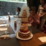 28294453 -                                               45周年記念の45cmタワーケーキに挑戦してきました