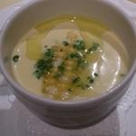 セレスティ - トウモロコシの冷製スープ 相方