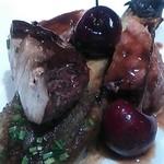 セレスティ - シャラン産鴨の炭火焼き