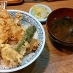 岡田家 - 天丼¥860