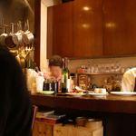 林 - 厨房はとても綺麗