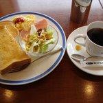 珈琲館 - 料理写真:モーニング