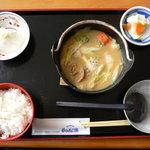 2830571 - なんこ汁定食(900円)