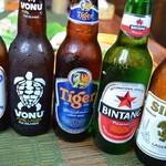 タルカリ - 世界のビールも豊富にあります!