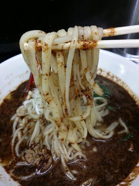 馬賊 日暮里店 - まばら感のある麺