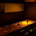居酒屋 十米 - テーブル個室