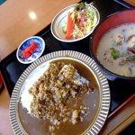 サンジェルマン - 料理写真:中華麺プラスカレー