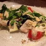 肉割烹 華家 新栄 - 瑞浪ポーノポークと水ナスのサラダ