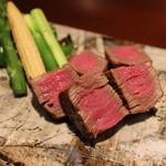 肉割烹 華家 新栄 - 炭焼 飛騨牛「シャトーブリアン」