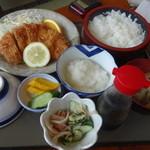 利福 - みぞれかつ定食¥1080