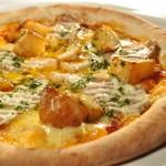 yebisu gogo cafe - パスタ、ピザは定番人気で種類も豊富