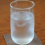 西欧亭 - 持ちやすいグラス