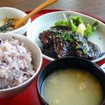 野歩ほん - 雑穀米ととろろ芋