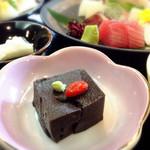 縁尋 - ごま豆腐