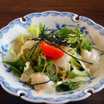 野歩ほん - 呉豆腐サラダ