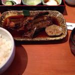 酒菜亭 ひぐち - 煮魚定食(コチ)¥1,000