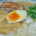 麺屋 きょうすけ - 1-2)鶏白湯魚介醤油・大盛アップ