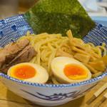 麺屋 きょうすけ - 2-1)鶏白湯魚介つけ麺・小(680円)
