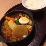スープカレー 米KURA - チキン野菜カレー