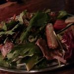 東洋食堂 百 - サムギョプサルサラダ