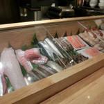 祭寿司 - うまそーなネタ こちらは地元向け品揃え