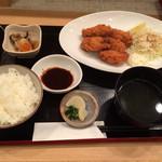 ダマヤ - 牡蠣フライ定食