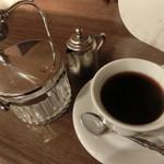 ジャズ喫茶ちぐさ - ソフトドリンク\500 コーヒー