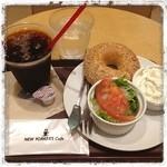 NEW YORKER'S Cafe - 11:00までのモーニングのセット。とってもお得!