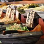 EN別邸 - 料理写真:日替わりおばんざい食べ放題