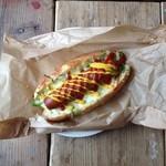 THE coffee time - original hotdog ¥450