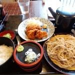 蕎麦人 弁慶 - 日替わりランチ