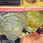 ブロンコビリー - はちみつ黒酢、りんご酢マンゴーミックス