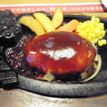 ブロンコビリー - チーズハンバーグ