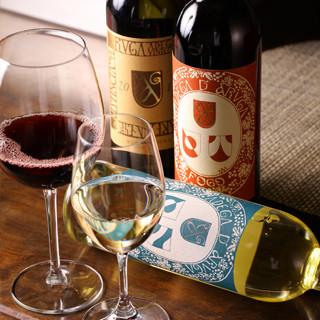 こだわりの日本酒、焼酎、ワイン