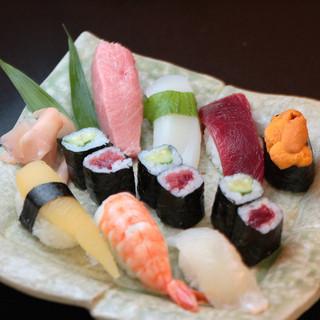 特上寿司(赤出し付)…1,900円