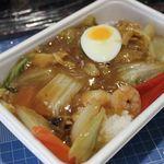 美珍楼 - 中華飯(中華丼)600円 (持ち帰り)