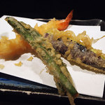 那かむら - 天麩羅 那かむらの「なでしこ定食」(デザート付)830円