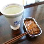 中村屋丸康酒店 - 2014.06 喜久泉(390円/180ml)いわし蒲焼缶(250円)