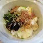 阿古屋茶屋 - お漬物バイキング(お茶漬け)