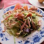 渋谷ロゴスキー - 若鶏のくんせいサラダ