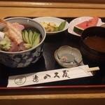 28341468 - ランチのちらし寿司(税込み972円)