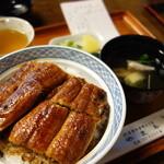 やま平 - 上うな丼¥2,592-