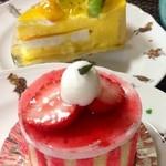 モナミ洋菓子店 - 見た目からまず可愛♡ そしておいしぃ♪