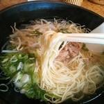 味や - ストレート細麺