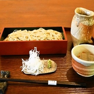 そばきり 日曜庵 - 料理写真:2014.6 せいろ(980円)