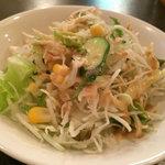 サウガット - セットのサラダ
