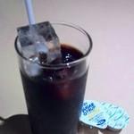 銀座イタリアン Fabi's  - 食後のアイスコーヒー