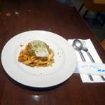イルピノーロ カフェ - 自家製ボロネーゼのタリアテッレ1,420円